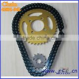 SCL-2012120121 Silver Color Olive Style 96L Fixed Gear Bicycle Chain