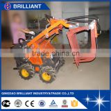 400kg Skid Steer Loader with Fork Grapple Attachment for Sale                                                                         Quality Choice