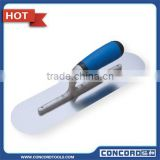 350mm Stainless Steel Blade Plastering Trowel with Plastic Handle and Rivets construction hand tool