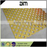 High quality wire mesh perforated sheet metal mesh plates facades/perforated aluminum sheet for sun