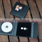 Wedding Fabric Linen DVD USB Case