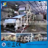 787mm and 1092mm tissue paper machinery, toilet paper machine