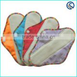 female comfort Sanitary pads Bamboo cloth menstrual pads wholesale