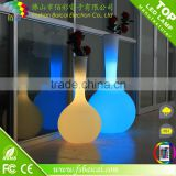 Decorative multi-color changing led flower pot/led light flower pot/LED illuminated flower vase