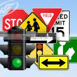 Road sign safety reflective plate reflective led traffic signs                                                                         Quality Choice