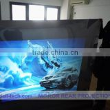 DEFI best price 53square meter(1.27m*41.87m) white front projection films stick on glass