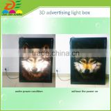 custom printed 3d wallpapers advertisements light box material