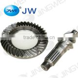 Gearbox forging parts differential ring and pinion gears for toyota bevel gear spiral shape