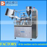 toothpaste soft tube filling & sealing machine, plastic tube filling & sealing machine for toothpaste