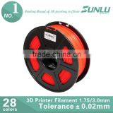 3d printer filament, 1.75mm pla filament for 3D printing, best alternative for abs plastic for 3d printer