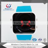 big face cool silicone led watch with reliable watch manufacturer in China