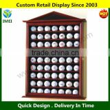 Golf Ball Designer Display Case Cabinet Holder Wall Rack YM1-922