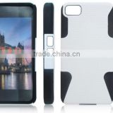 2013 New Arrival 2 in 1 for Blackberry Z10 hard Case Cover ,Mobile phone hard cover case for BB Z10