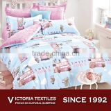 Lovely Cartoon Pattern For Kids Teens Adults King Duvet Quilt Set Bedding