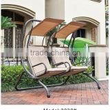 Two seat Outdoor swing chair benches hanging bench garden patio swing chair and benches