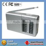 AM/FM small radio with speaker&antenna professional small radio