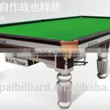 12 ft Star Silver Snooker Table XW102-12S with top grade accessories