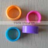 Colorful silicone rings for chicken feet, the best unbreakable chicken feet silicone rings for chicken sale