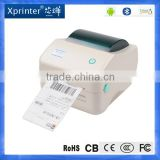 Xprinter 4 inch commercial thermal barcode sticker label printers machine