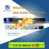 Digital tv headend equipment h.264 catv encoder h-d-m-i iptv COL5181D