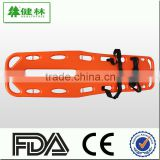 Emergency light weight plastic stretcher for first aid use and hospital ambulance use with CE FDA ISO certificate standard