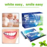 Double Elastic gel strips dental whitening strips home use