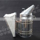Exporting style beekeeping colony stainless steel bee smoker