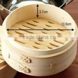 "High quality natural Bamboo and wood steamer kitchen ware for bread in stock,6""7""8"" export"