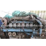Inquiry about Marine Man Used Engine V12 with GearBox 2 Sets Left