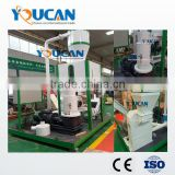 Youcan good performance wood pellet production line/wood pellet milling machine/poultry feed pellet plant