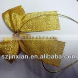 Grosgrain ribbon colorful gift bow for hair /wedding