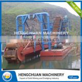 high density gold concentrate processing / sand river dredging ship of CE and ISO9001 standard