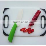 Plastic chopping Board with hole /vegetable chopping board