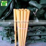 120cm X 2.5cm varnished wooden broom handle with lower price