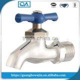 Long body chrome brass washing machine hose bib tap brass bibcock tap small water faucet