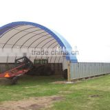 Heavy Duty Fabric Warehouse Tent , Farming Storage Shelter , Container Shelters , Poultry And Livestock Shelter