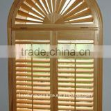 wooden shutters and blinds