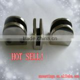 "stainless steel ""D"" glass clamp"