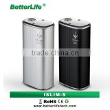 China factory design 1700 times recycle battery e cigarette box mod ISLIM-S 50w mod vapor