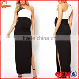 Maternity Wear Evening Party Cocktail Formal Dress Black White Wholesale Maternity Clothes