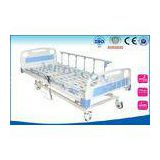 ABS Head Foot Board Medical Hospital Beds , Metal Electric Hospital Bed