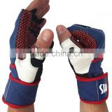 Weightlifting Gloves with over 18-inch Wrist Wrap Support for Workout