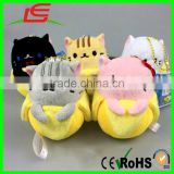 5pcs Kawaii Banana Cat Plush Toy stuffed animal keychain