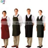 Wholesale Custom Canvas/Plastic/Nlylon Cooking Kitchen Apron For Man/Woman