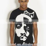 image T-Shirt with The full Print/hip hop fashion tshirt/big mens clothing/white cotton printed tshirts/OEM&ODM model-sc229