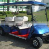 Four seat electric golf cart
