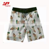 Newest Style Fashion Sexy Men Quick dry 4 Way Stretch Board Short with Sublimation Printing