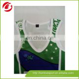 2015 custom made wholesale netball jersey with competitive price