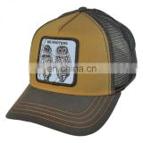 Animals trucker snapback cap and hat/snapback custom baseball cap