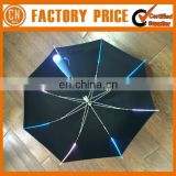 Newest Design Handle LED Light Umbrella Promotional Umbrella With LED Light